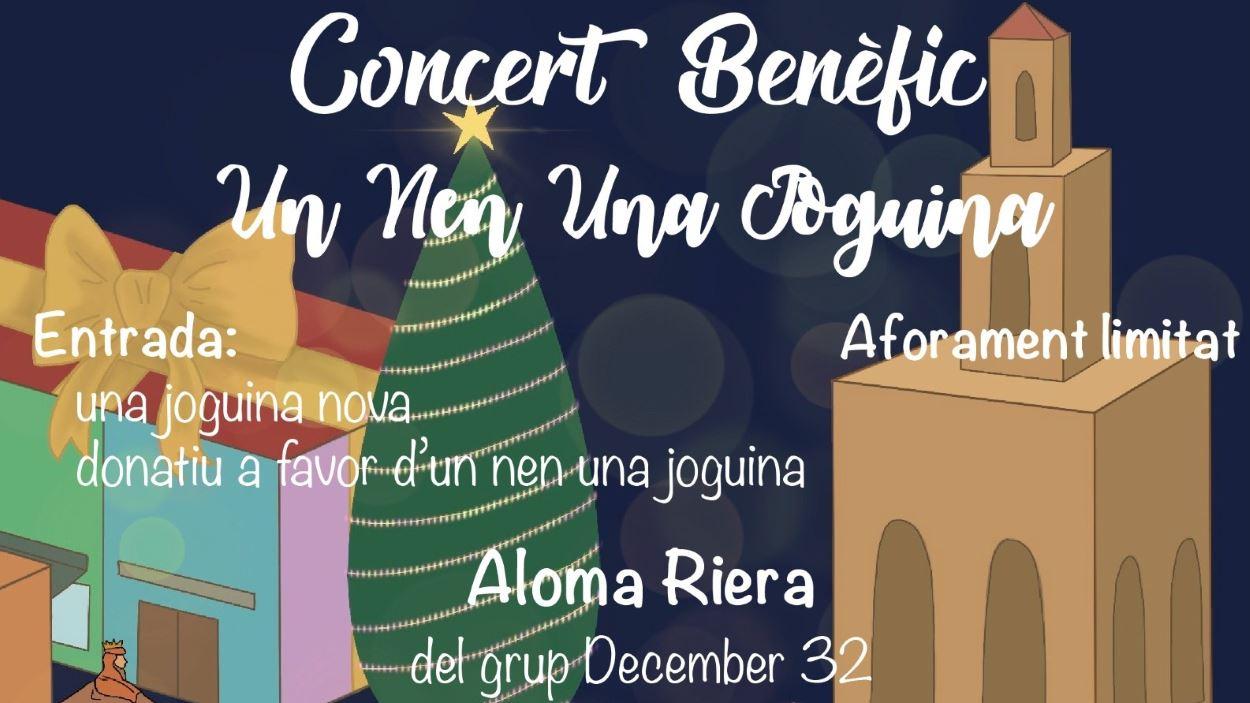 Nadal: Concert benèfic: Aloma Riera del grup December 32