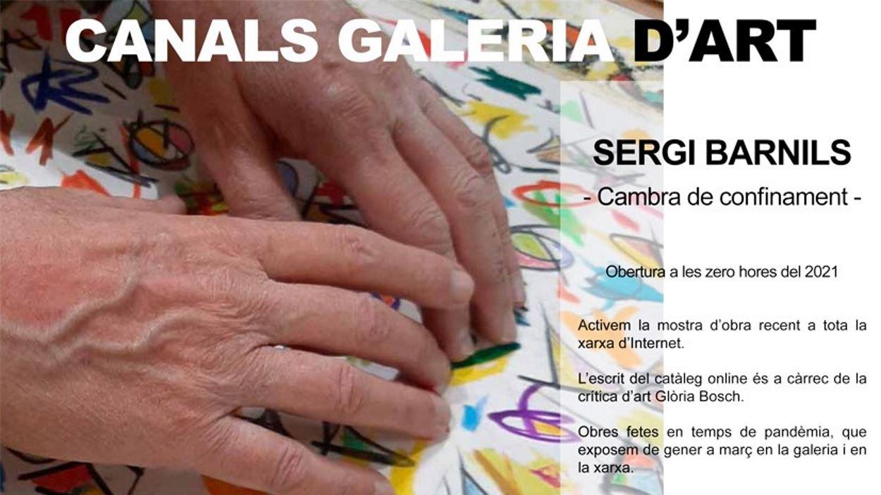 Exposició: 'Cambra de confinament', de Sergi Barnils