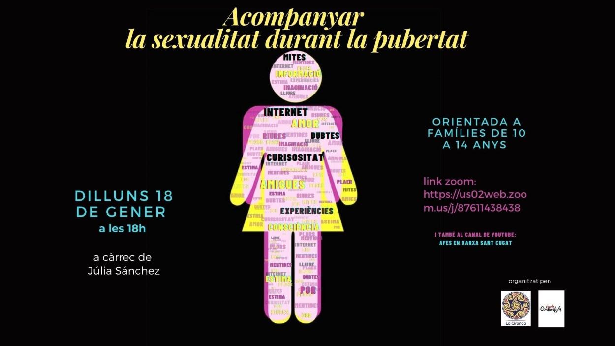Xerrada en línia: 'Acompanyar la sexualitat durant la pubertat'