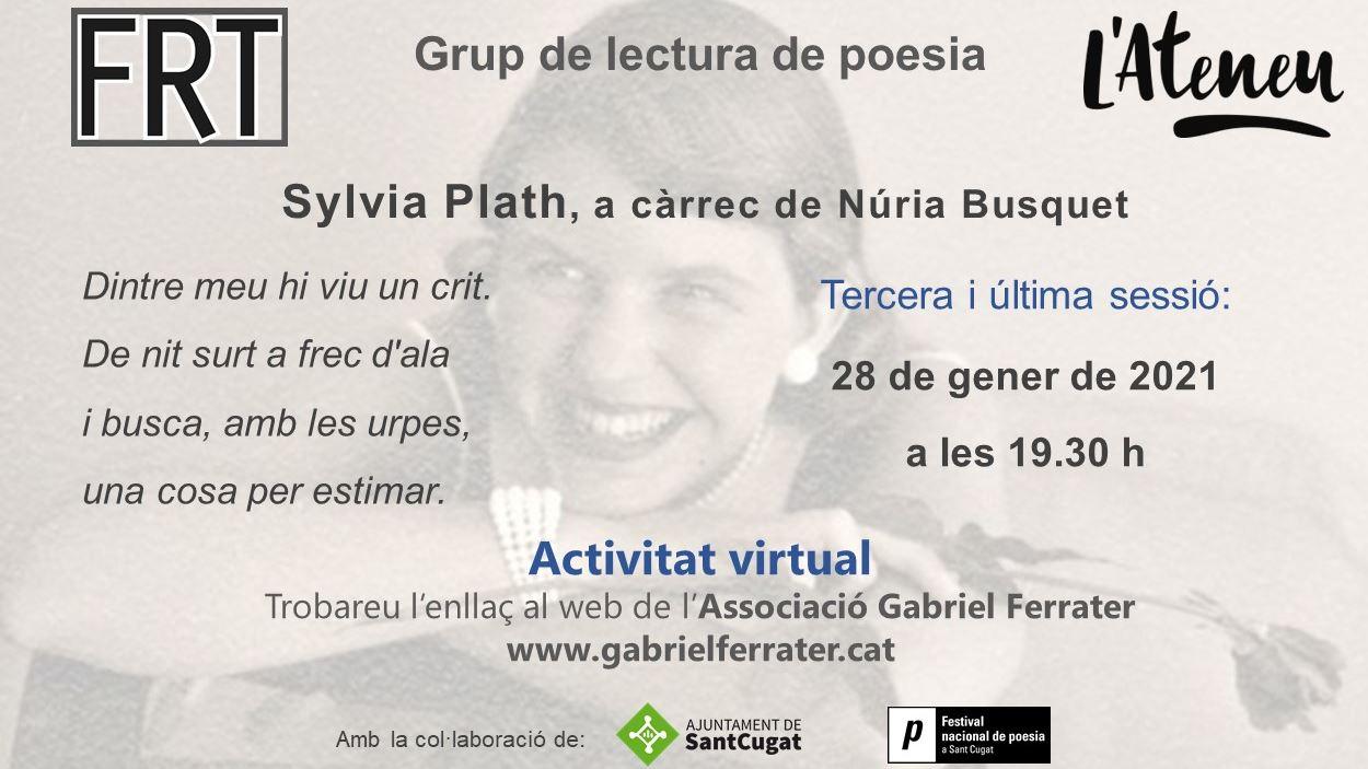 ONLINE - Grup de lectura de poesia: Sylvia Plath