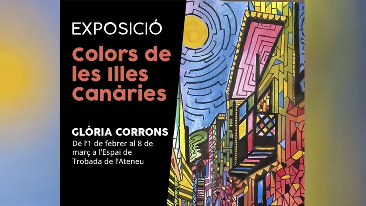 Exposició: 'Colors de les Illes Canàries', de Glòria Corrons