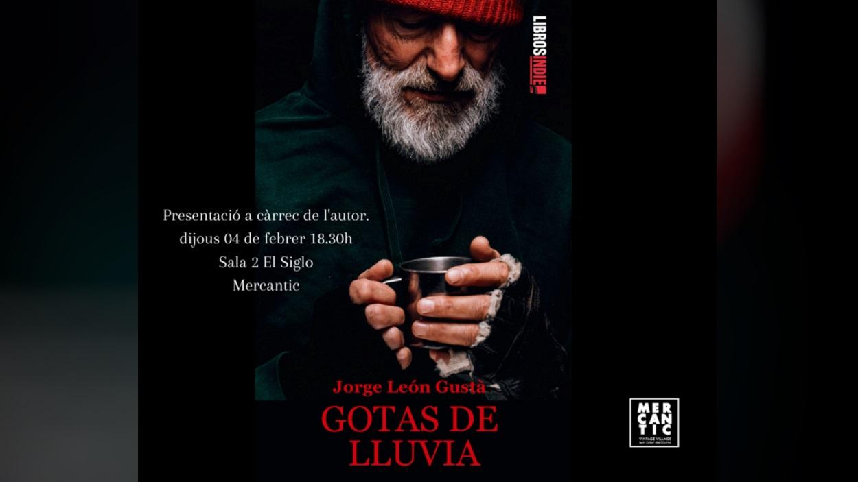 Presentació de llibre: 'Gotas de lluvia', de Jorge León Gustà
