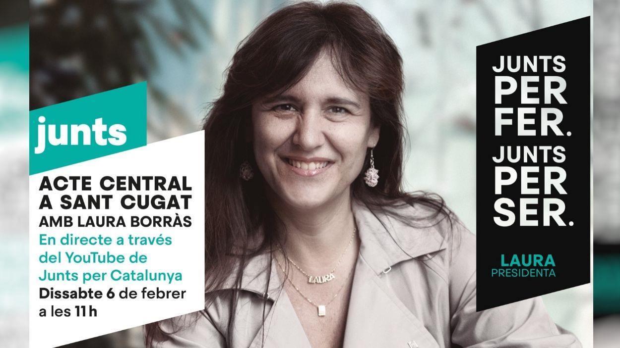 Eleccions 14F: Junts per Catalunya: Acte amb Laura Borràs