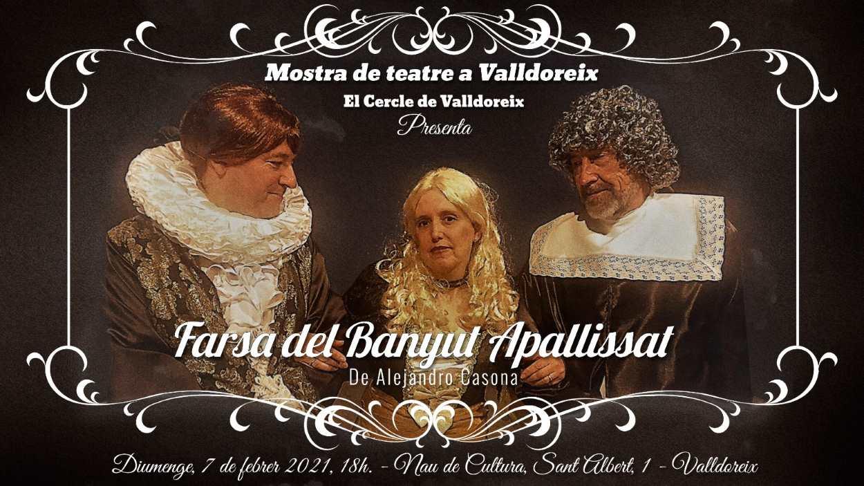 Mostra de teatre a Valldoreix: 'Farsa del banyut apallissat'