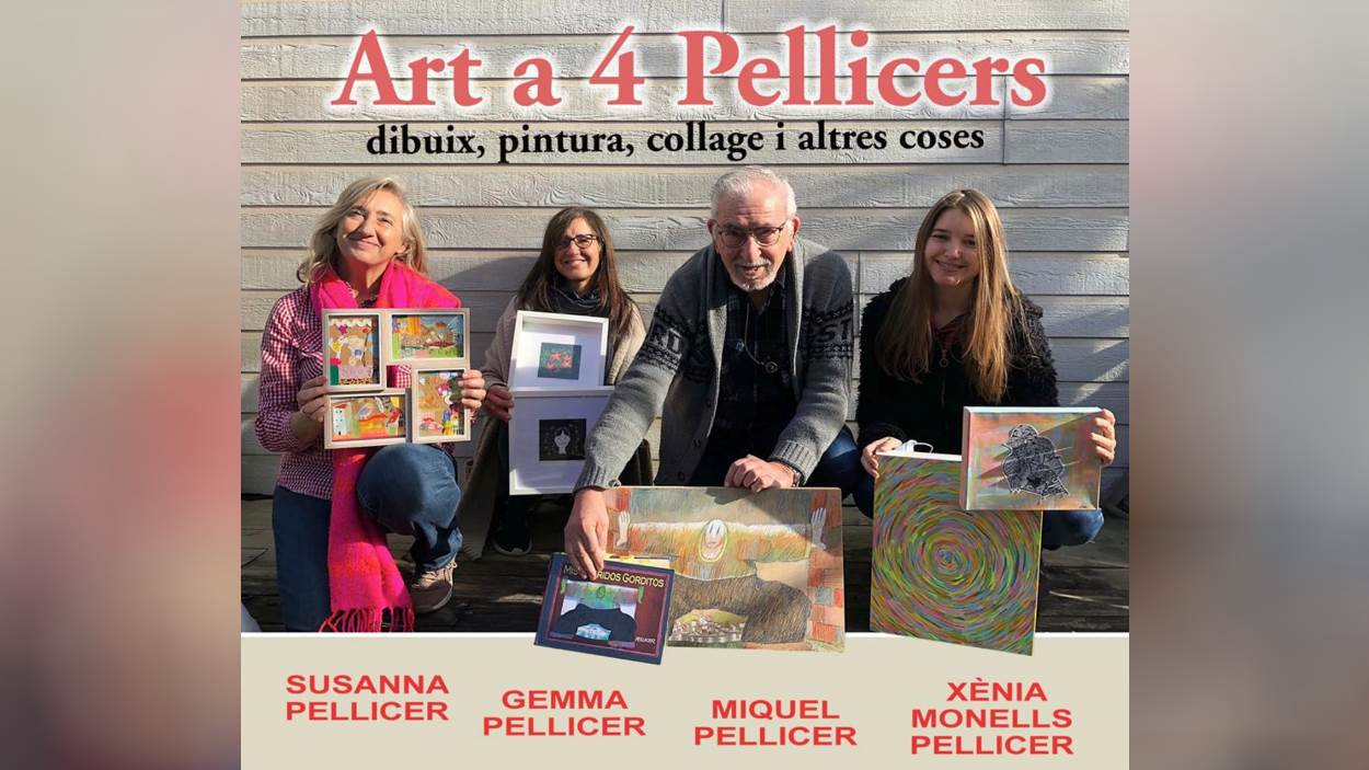 Exposició: 'Art a 4 Pellicers'