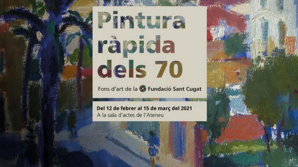 Exposició: 'Pintura ràpida dels 70', del fons d'art de la Fundació Sant Cugat
