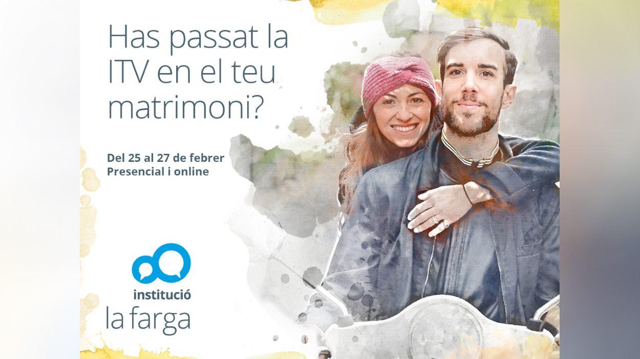 Activitat: 'ITV Matrimonial. Una posada a punt per al matrimoni' - Presencial i online