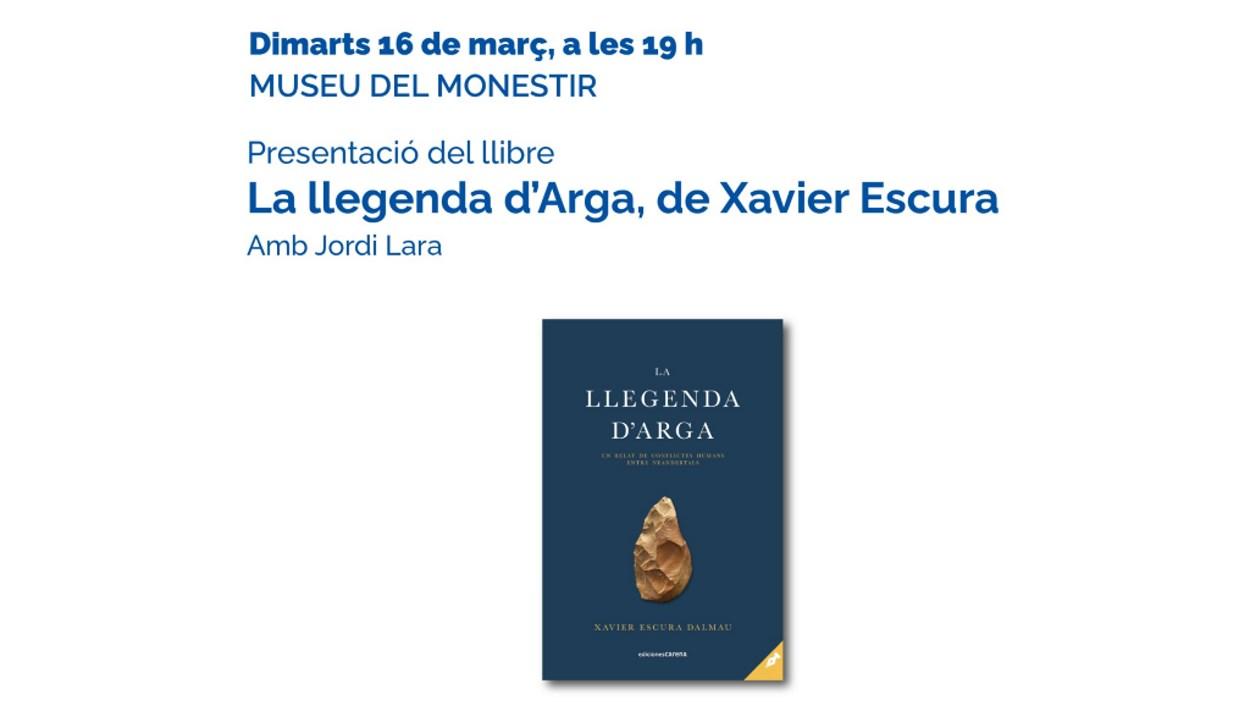 Presentació de llibre: 'La llegenda d'Arga', de Xavier Escura
