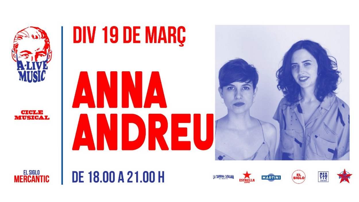 (A) Live Music: Anna Andreu