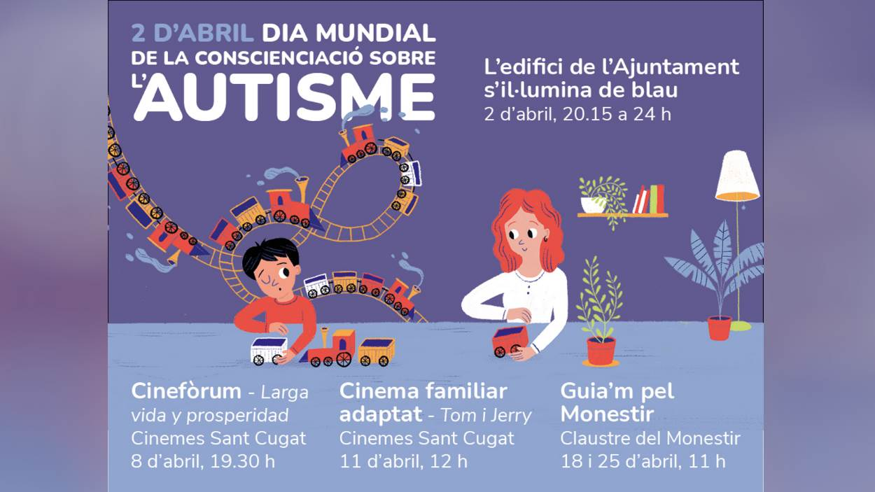 Dia Mundial de l'Autisme: Cinema familiar adaptat: 'Tom i Jerry'