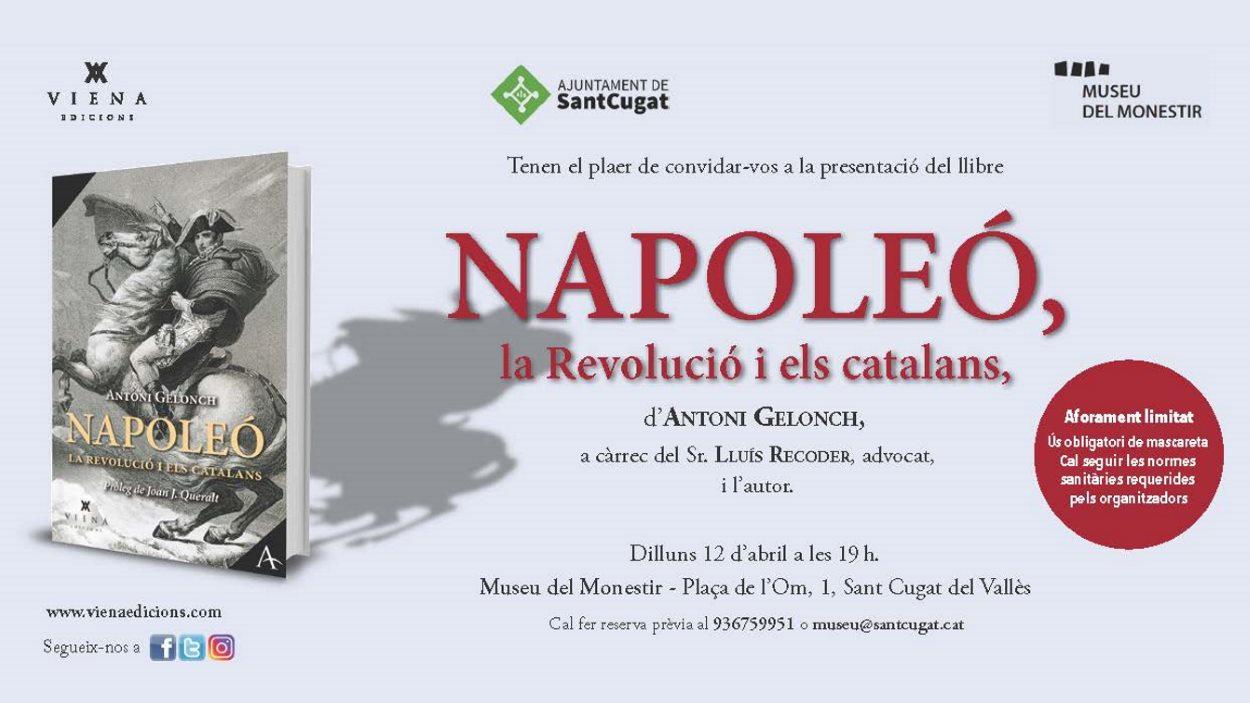 Presentació de llibre: 'Napoleó, la Revolució i els catalans', d'Antoni Gelonch