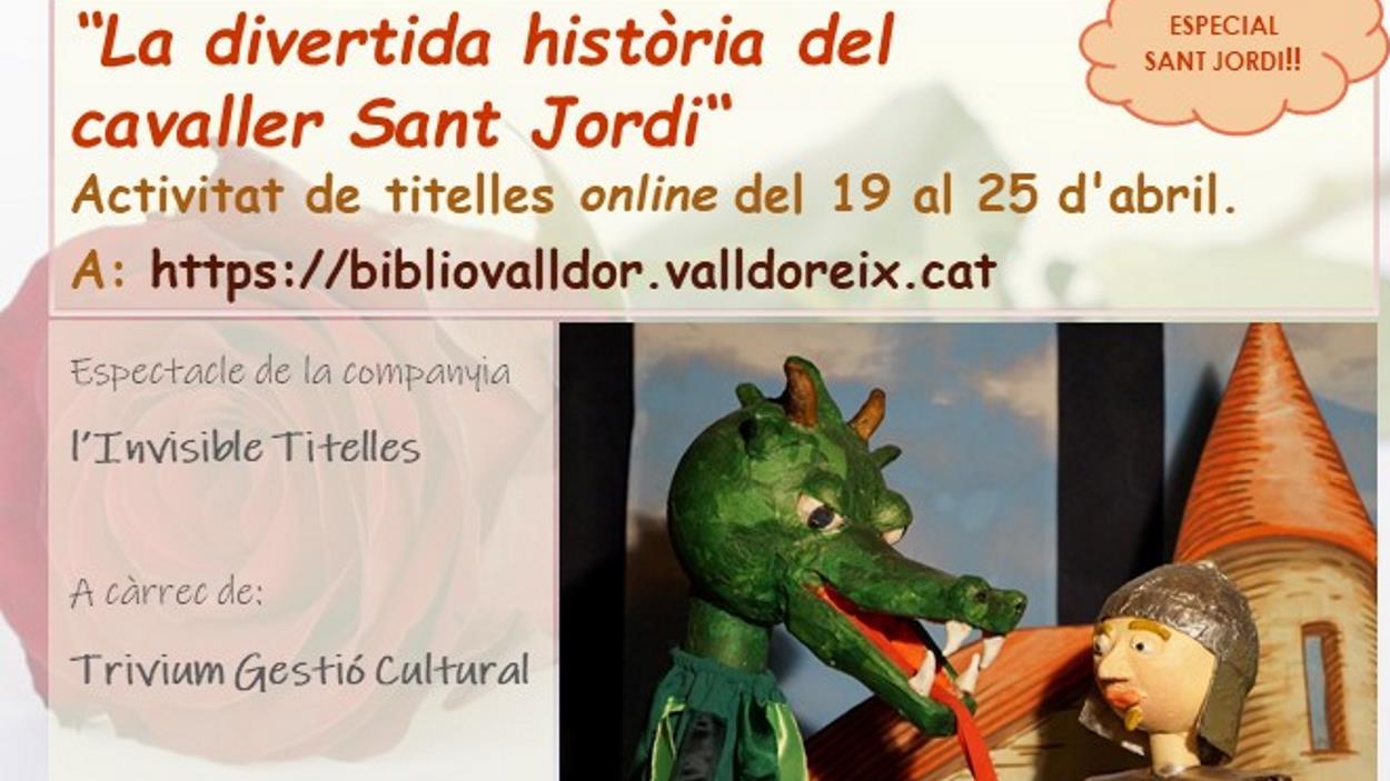 ONLINE - Titelles: 'La divertida història del cavaller Sant Jordi'