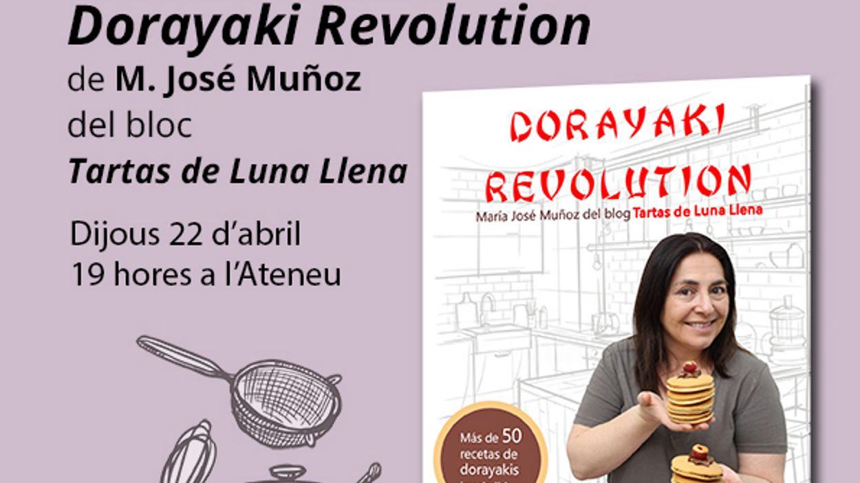 Presentació del llibre 'Dorayaki Revolution', de María José Muñoz - Presencial i en línia