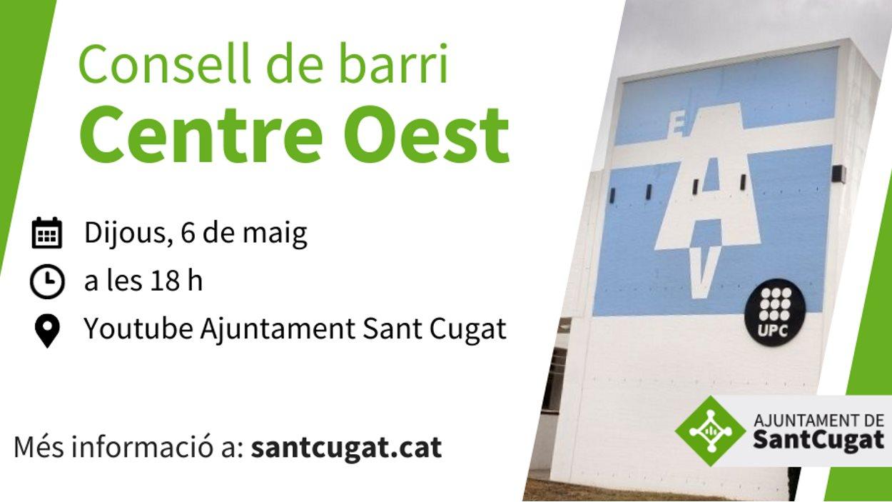 ONLINE - Consell de barri de Centre Oest
