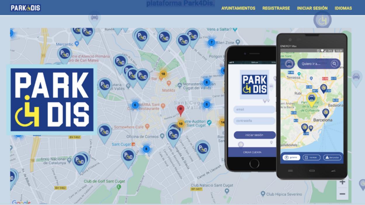 Presentació de l'app Park4dis a Sant Cugat