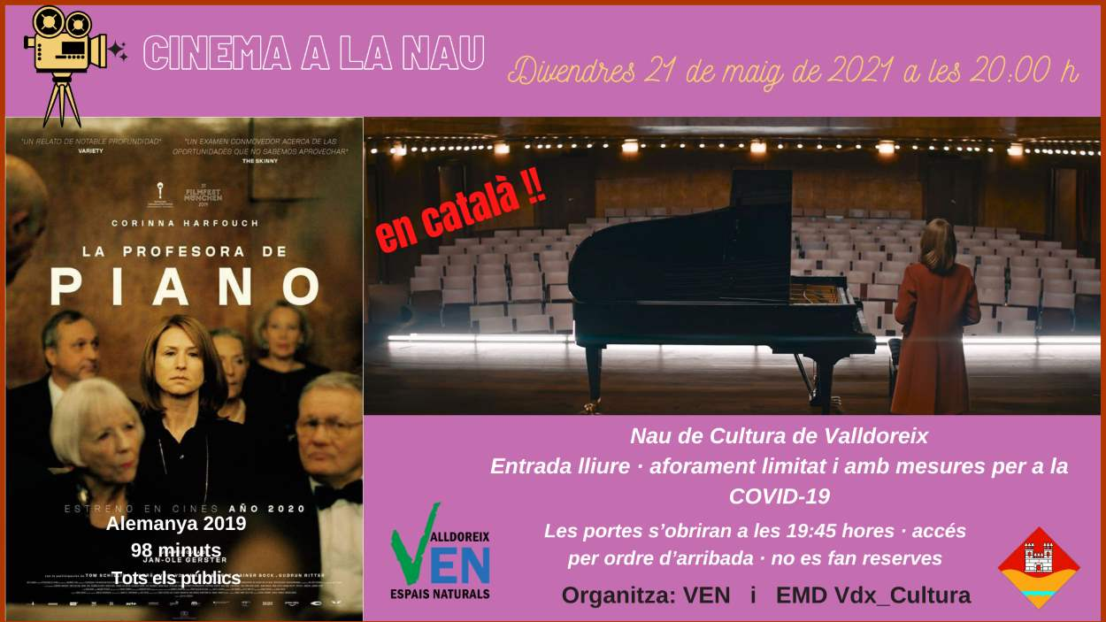 Cinema a la Nau: 'La professora de piano'