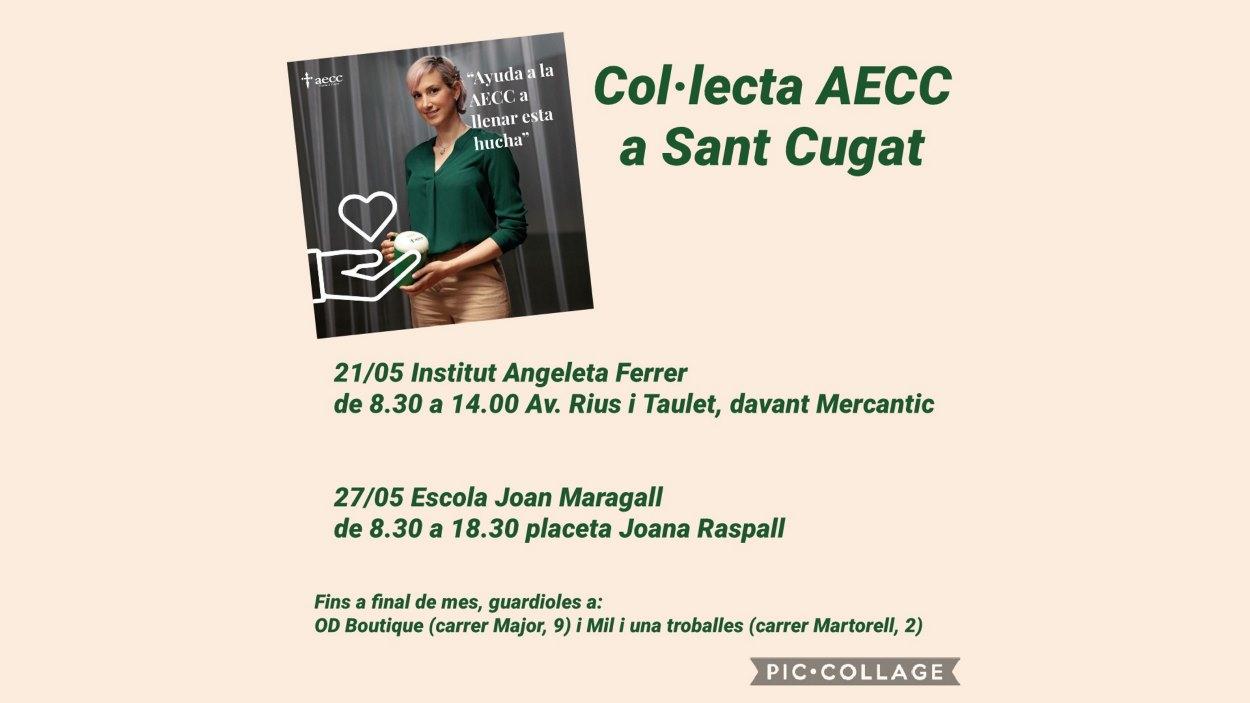 Col·lecta AECC a Sant Cugat