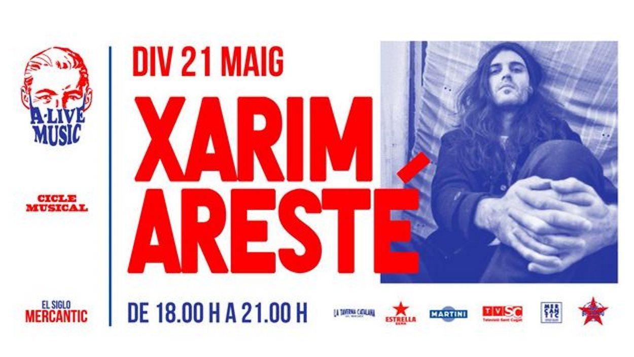 A-Live Music: Xarim Aresté