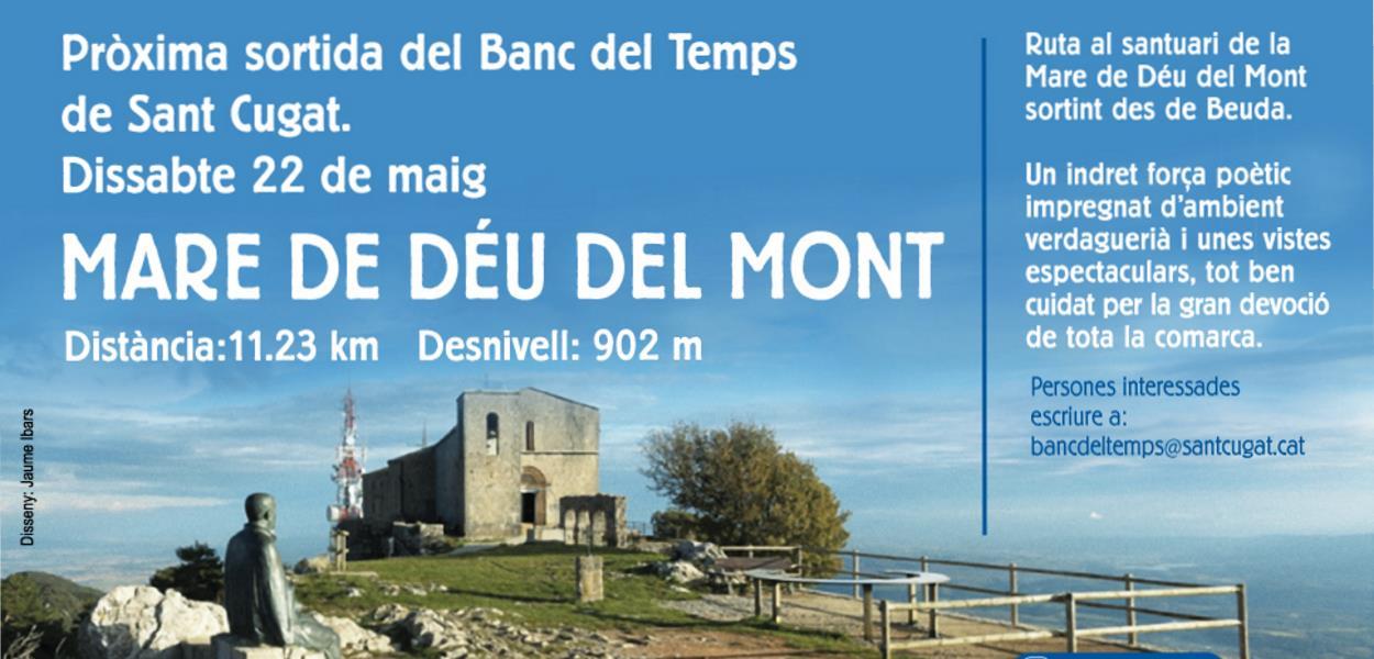 Sortida del Banc del Temps: Mare de Déu del Mont