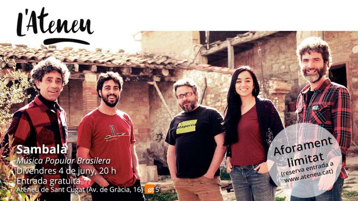 Concert 'Vespres al pati': Sambala - Presencial i en línia