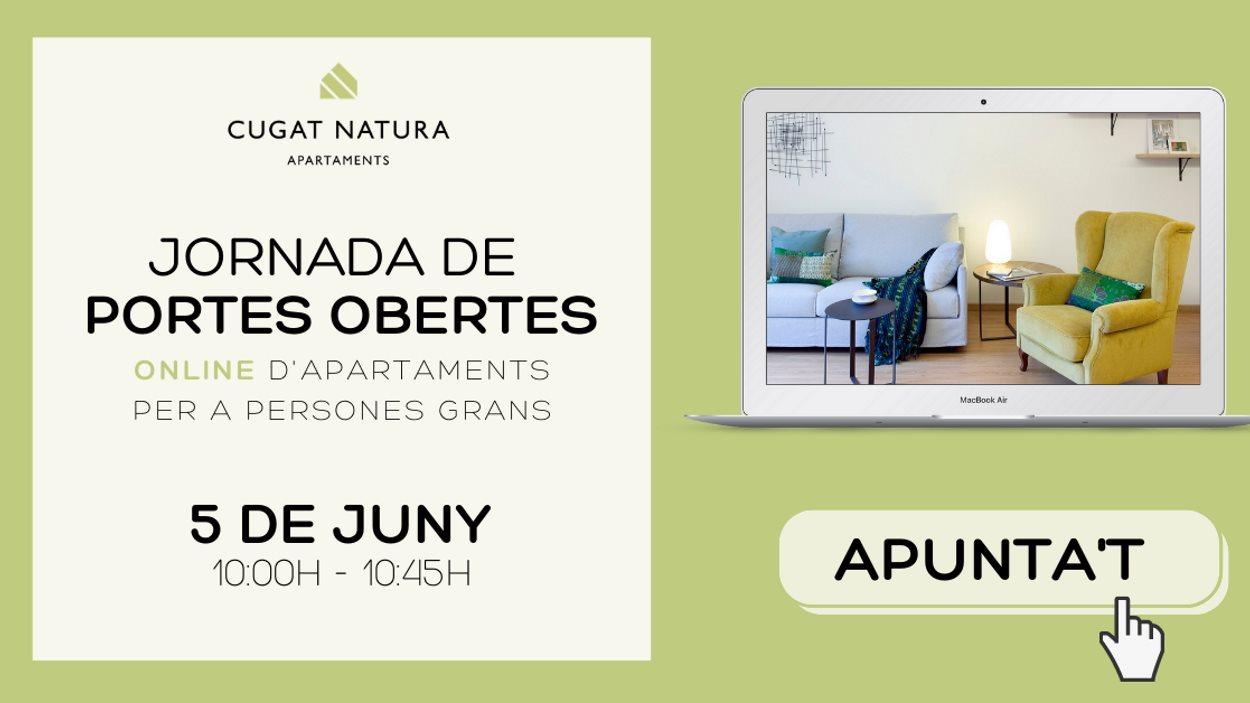 ONLINE - Jornada de portes obertes dels aartaments Cugat Natura per a persones grans