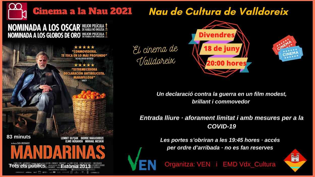 Cinema a la Nau: 'Mandarinas'