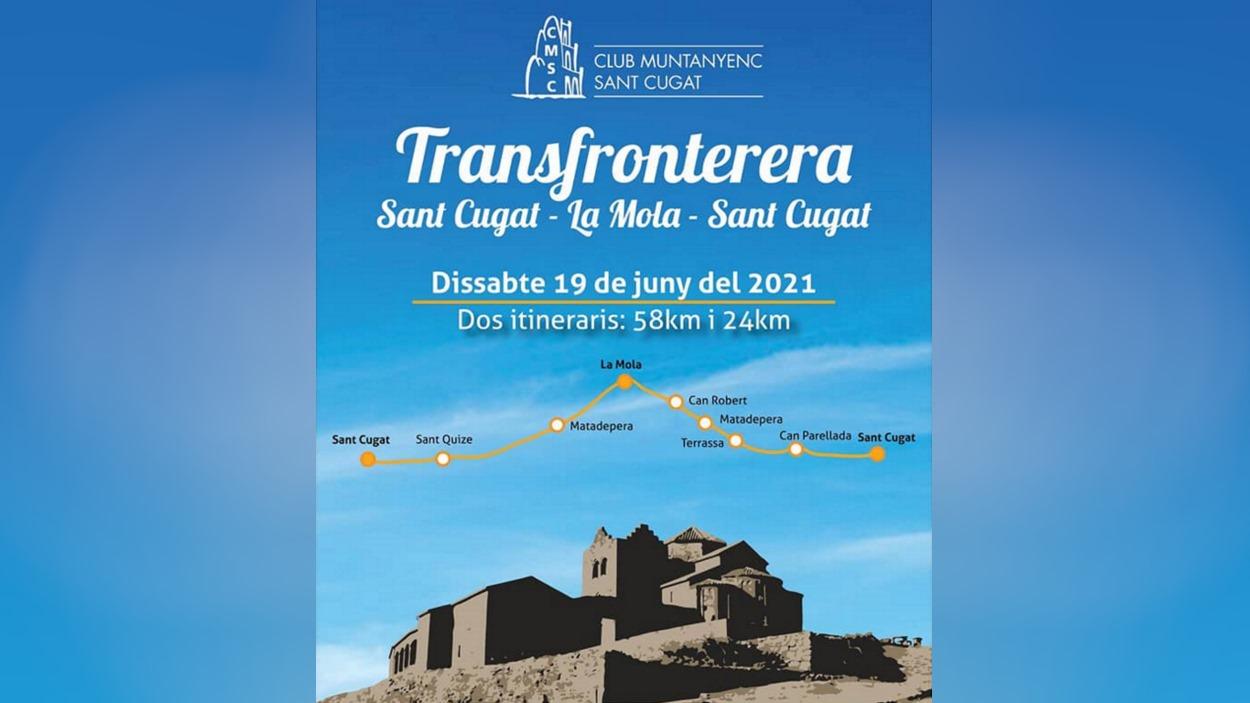 14a Transfronterera Sant Cugat - La Mola - Sant Cugat