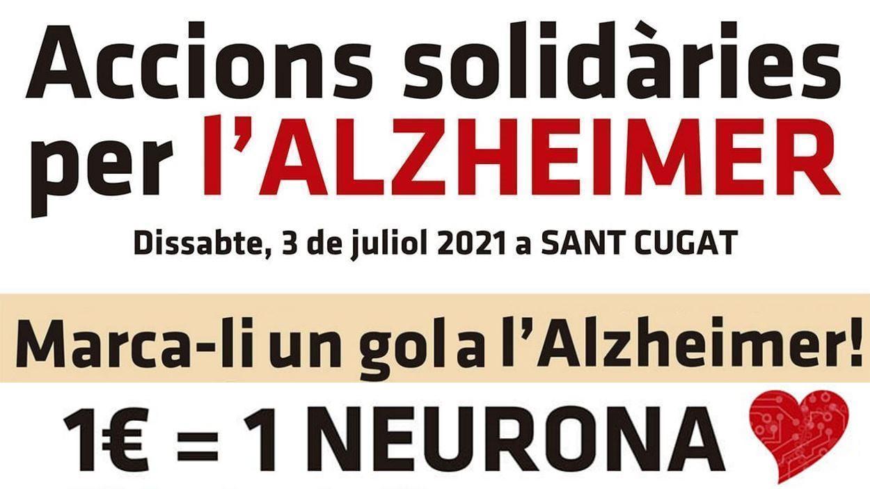 Accions solidàries per l'Alzheimer