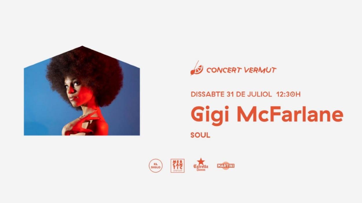 Concert-vermut a El Siglo: Gigi McFarlane