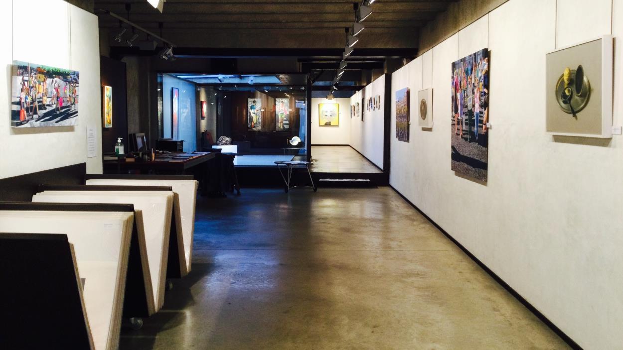 Exposició col·lectiva de presentació de temporada 2021-22 a La Galeria