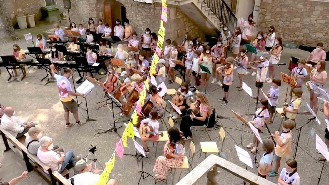 Festa Major Valldoreix: Concert de l'Orquestra de les Colònies Musicals de l'EMV