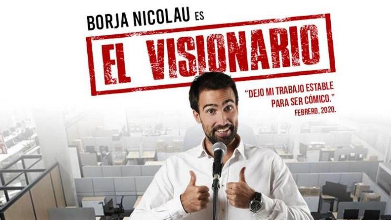 Festa Major Volpelleres: Monòleg: 'El visionario', de Borja Nicolau