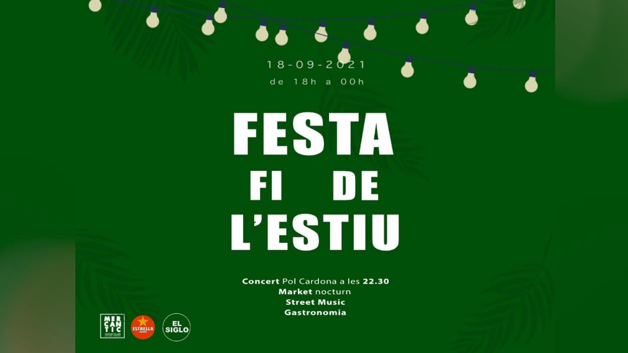 Festa fi de l'estiu a Mercantic i concert de Pol Cardona
