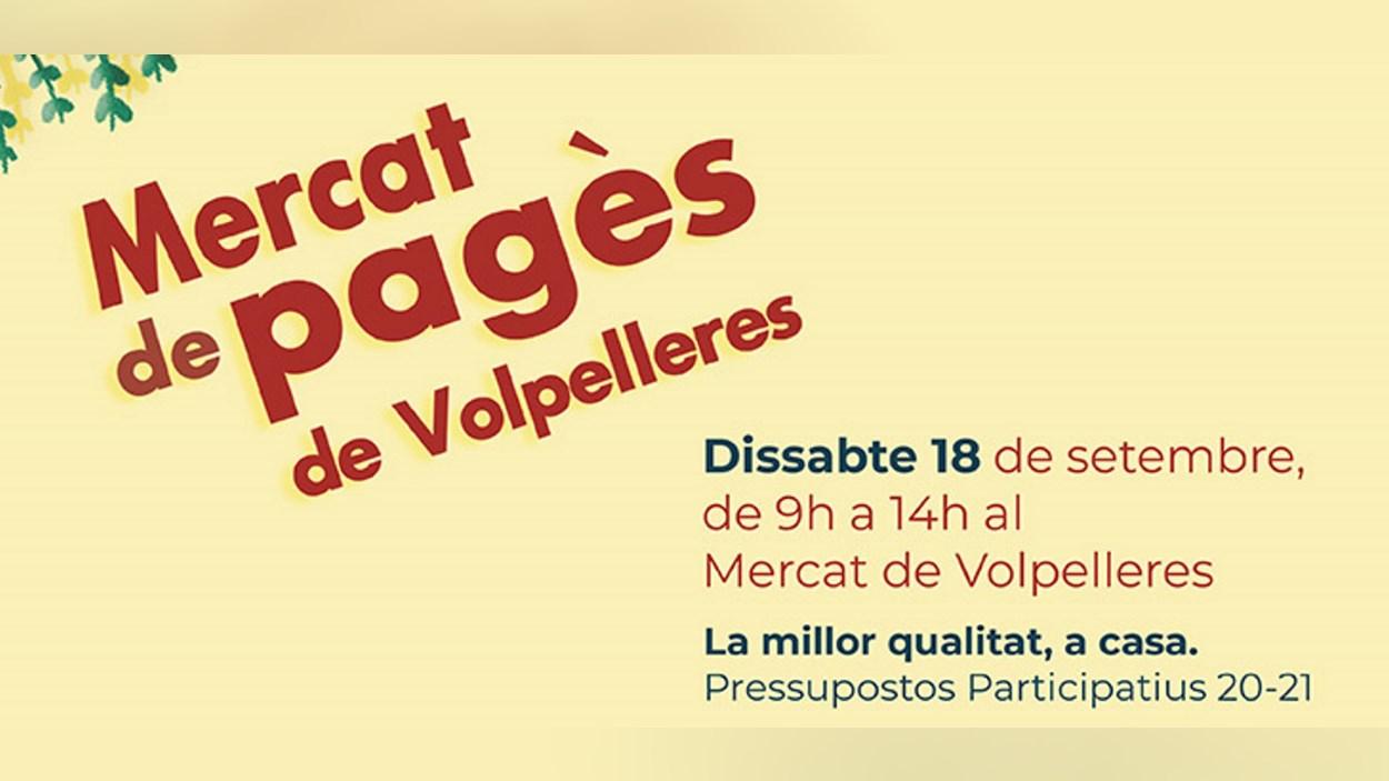 Festa Major Volpelleres: Mercat de Pagès
