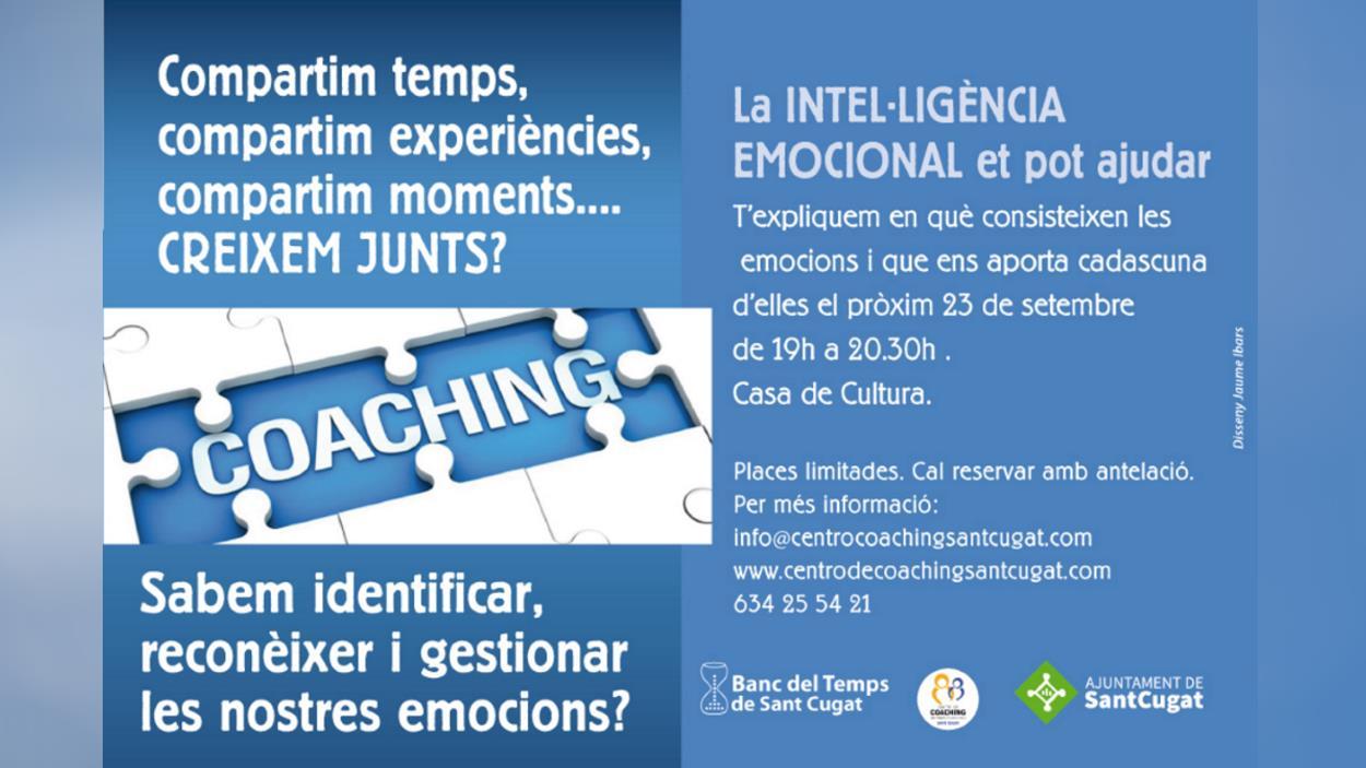 Xerrada: 'La intel·ligència emocional et pot ajudar'