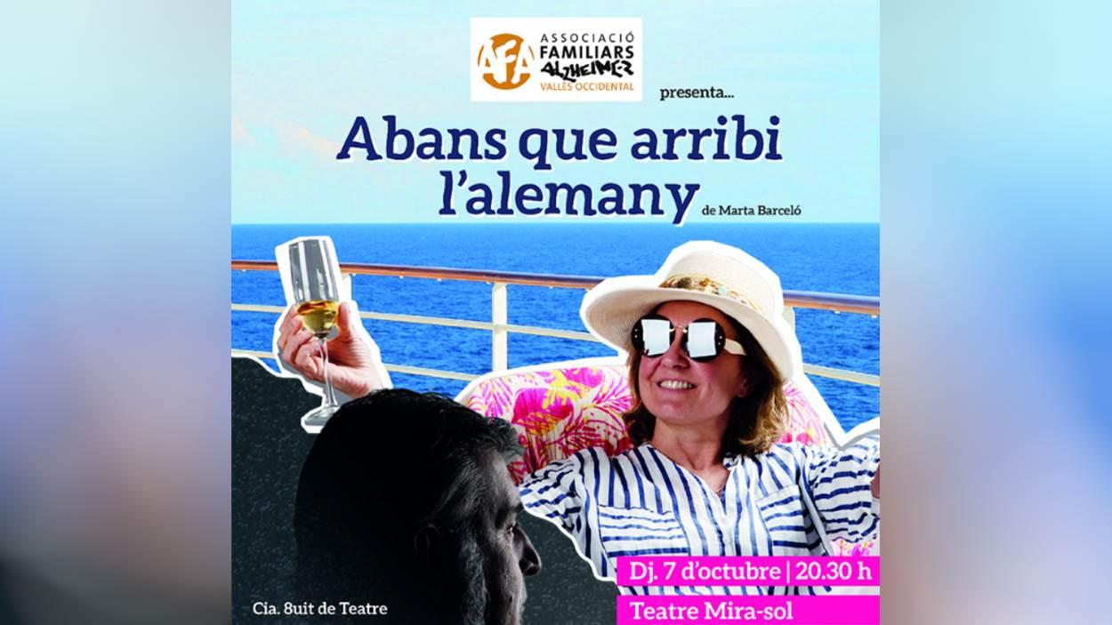 Teatre: 'Abans que arribi l'alemany', amb Cia. 8uit de Teatre
