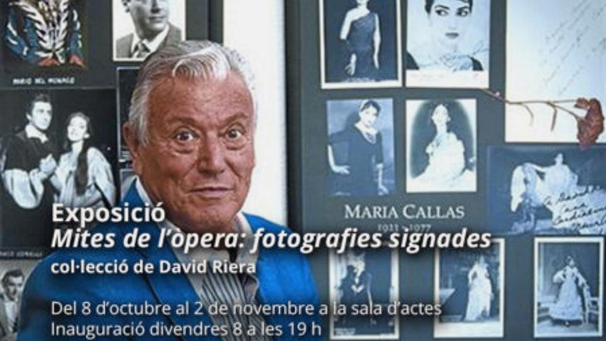 Exposició: 'Mites de l'òpera: fotografies signades', de la col·lecció de David Riera