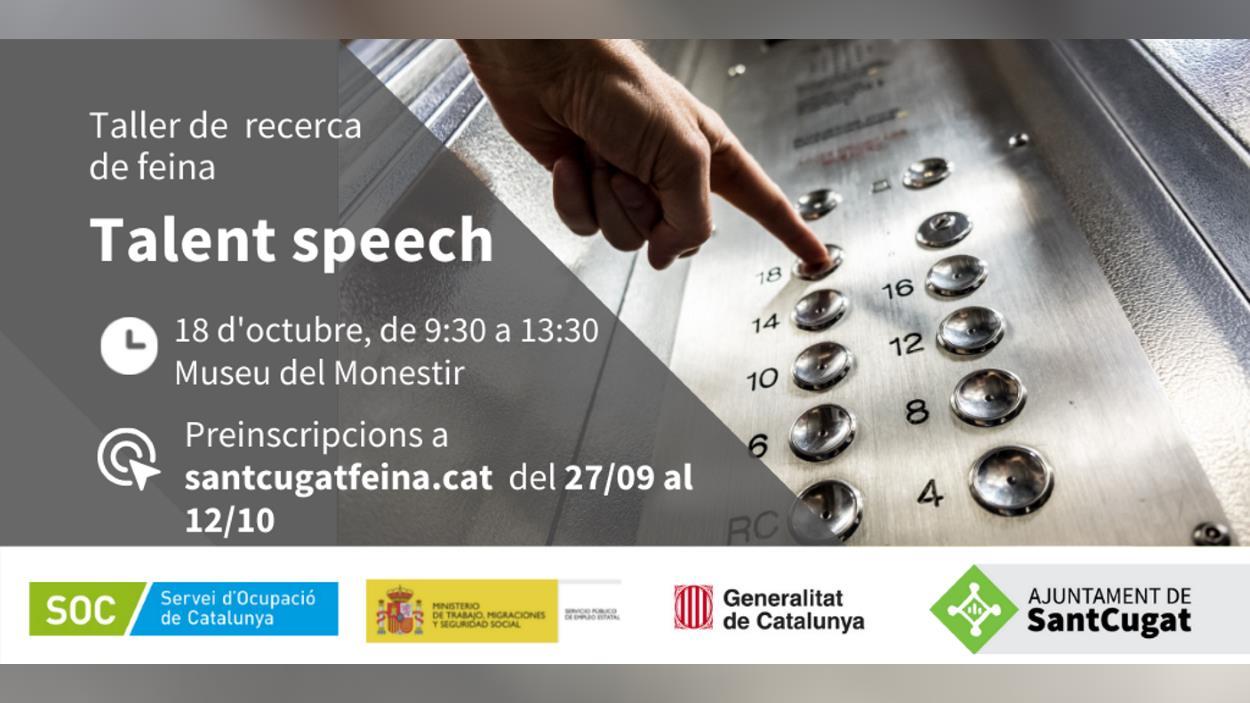 Taller de recerca de feina: 'Talent speech'