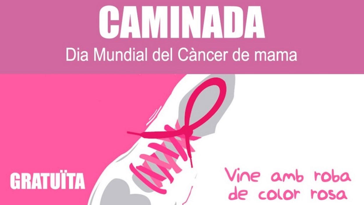 2a Caminada Dia Mundial del Càncer de Mama