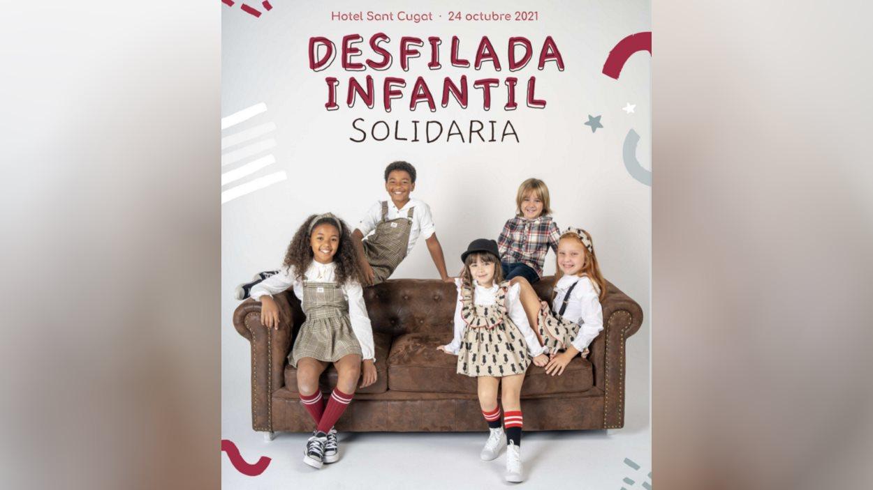 Desfilada de moda infantil solidària per a la Fundació Iván Mañero