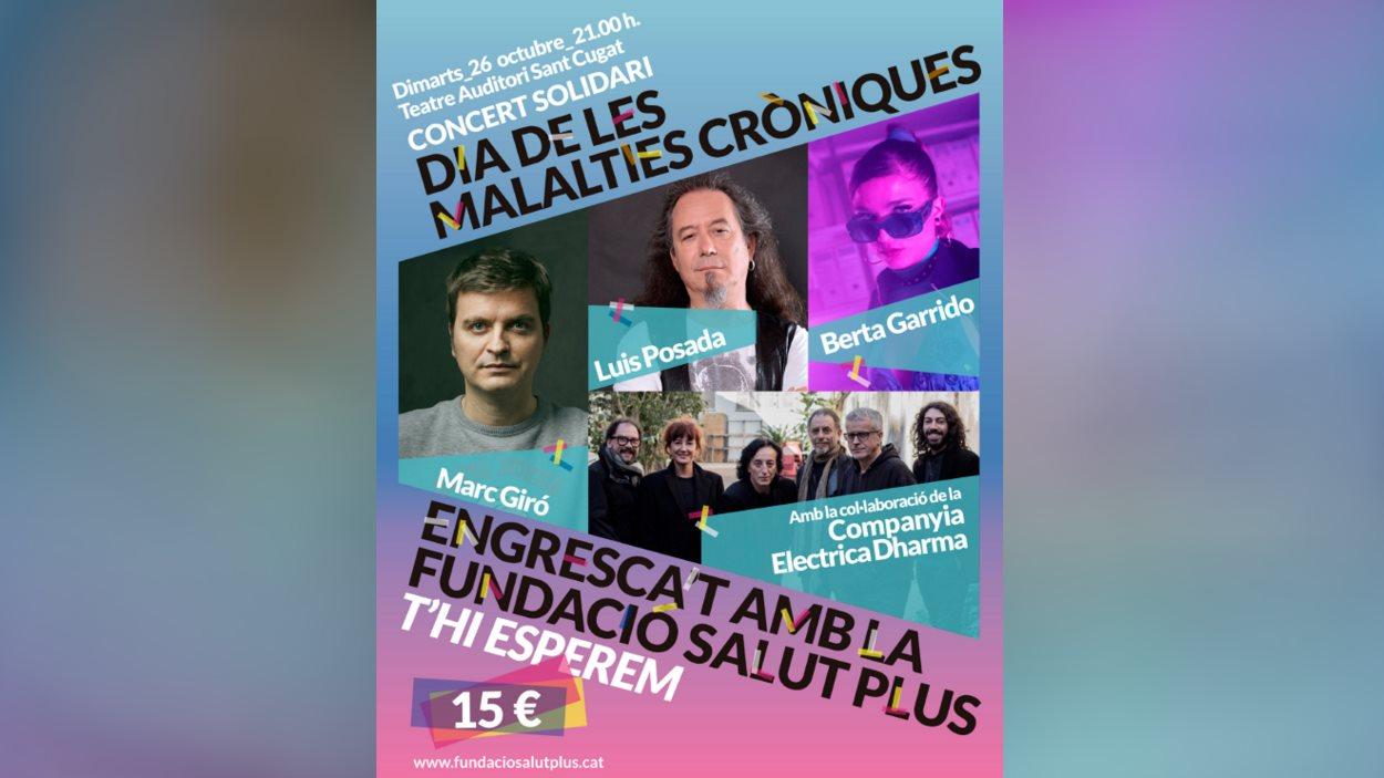 Concert solidari: Dia de les Malalties Cròniques
