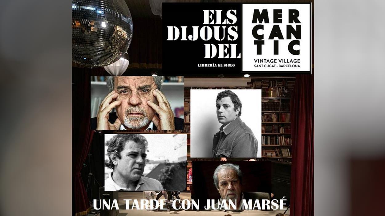 Els Dijous de Mercantic: 'Una tarda amb Juan Marsé'