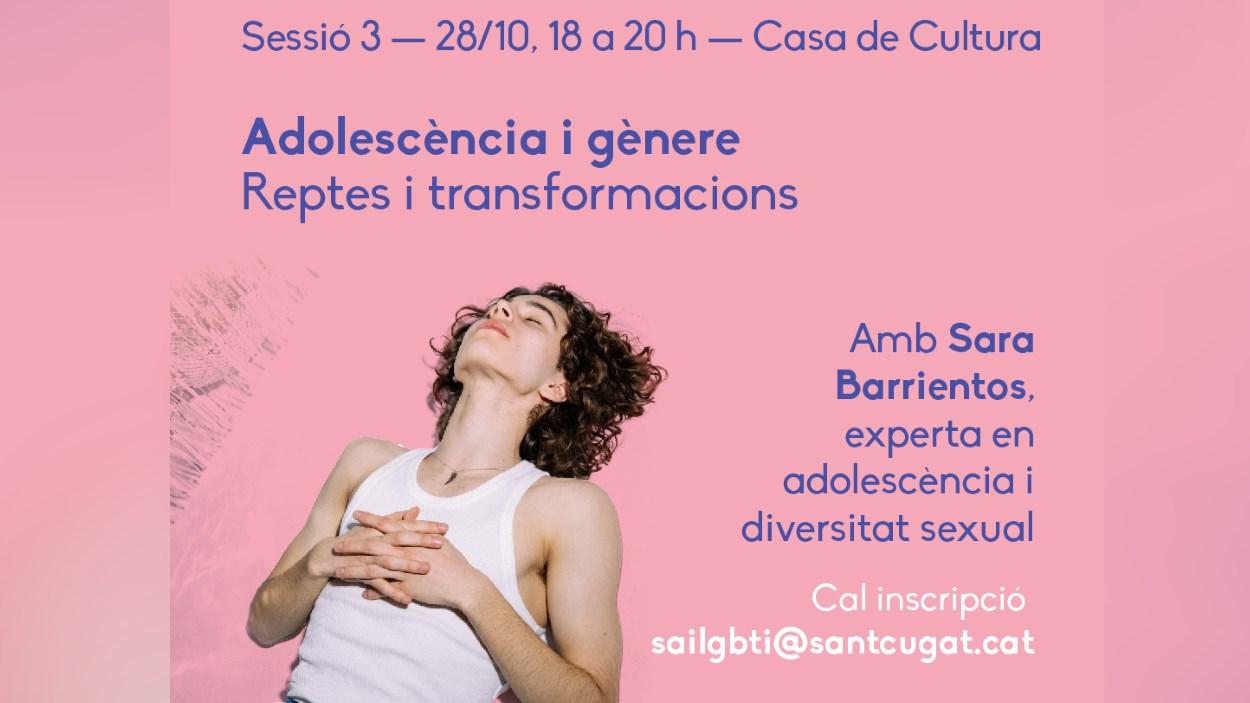 Xerrada: 'Adolescència i gènere. Reptes i transformacions'