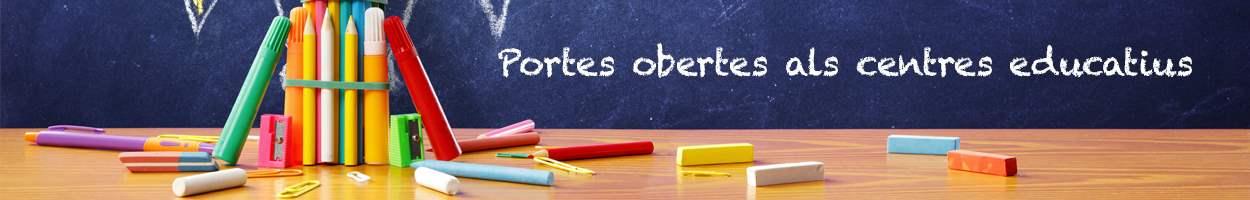 PORTES OBERTES ALS CENTRES EDUCATIUS 2021