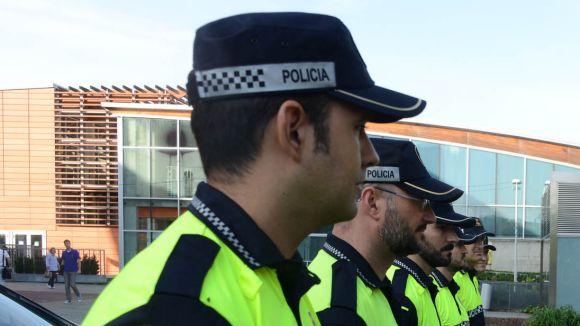 Part de la plantilla de la Policia Local / Foto: Localpres