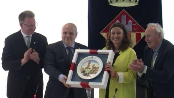 Sant Cugat i Alba celebren 10 anys d'agermanament amb l'objectiu de reforçar les relacions