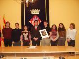 Els alumnes de l'Àgora han estat rebuts per l'alcalde