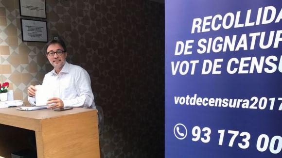 Agustí Benedito, el promotor de la moció de censura / Font: Agustí Benedito