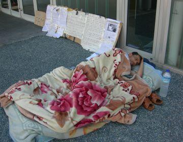 El santcugatenc en vaga de fam ingressa a l'hospital per ordre judicial