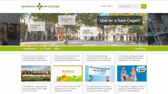 El web de l'Ajuntament, reconegut per la qualitat i transparència en comunicació